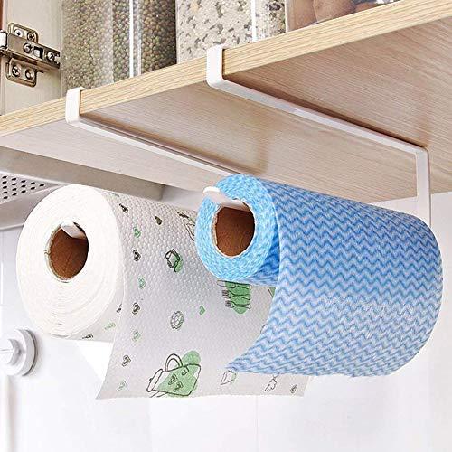 Badezimmer Schrank Handtuch Rack (Yigo Papier Rolle Halter Handtuch Halter Serviette Rolle Dispenser Küche Badezimmer Versorgung unter Schrank Serviette Rack)