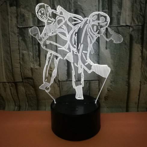 Boxer Boxen LED Nachtlicht 7 Farbe Home Party Bar Decor Lampe Mann Kinder Favor Besten Geschenke ()