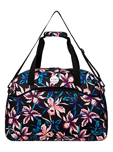 Roxy Damen Reisetasche TOO FAR J LUGG, True Black  Maui Lights, 30 x 64 x 33 cm, 58 Liter, ERJBL03048-KVJ8