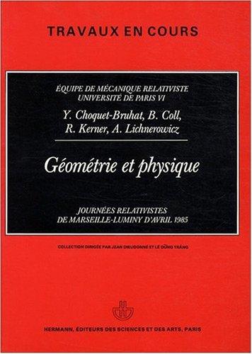 Géométrie et physique
