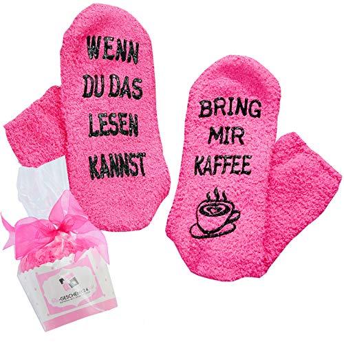 [Kaffee-Socken Premium] WENN DU DAS LESEN KANNST, BRING MIR KAFFEE (if you can read this, bring me...