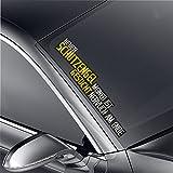 Schutzengel Auto Aufkleber XXl Frontscheibe