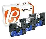 Bubprint 3 Schriftbänder kompatibel für Brother TZE-931 TZ 931 für P-Touch 1280 2430PC 2730VP 3600 9500PC 9700PC D400VP D600VP H100LB H105 P700 P750W