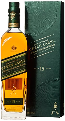 Johnnie Walker Green Label Blended Scotch Whisky (1 x 0.7 l)