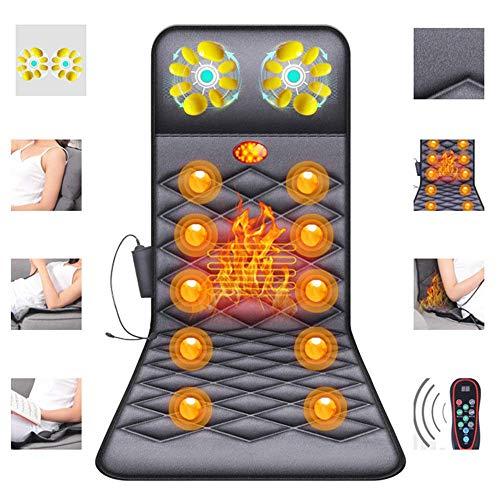 Massaggiare tappeto con funzione di riscaldamento - tabella di digitopressione massaggiatore massaggio pieghevole - 26 materasso di massaggio testa-top per il collo, schiena e gambe contro la fatica