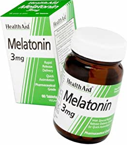 HealthAid Melatonin 3mg - 60 Tablets
