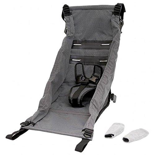 Croozer Babysitz Kid für Modelle von 2010 bis 2015 mit Adapter grey