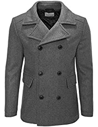 Selected Herren Wollmantel Wolljacke Winterjacke Mantel
