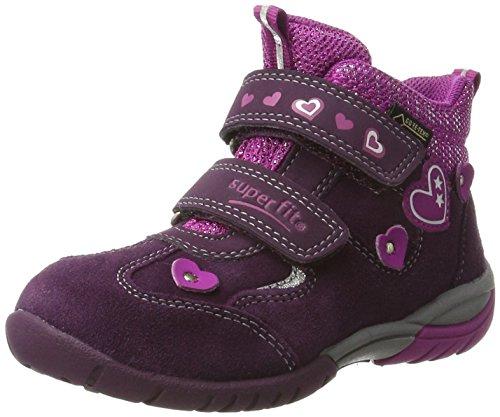Superfit - Sport3, Pantofole a Stivaletto Bambina Violett (eggplant KOMBI)