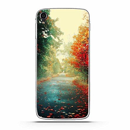 Fubaoda Alcatel One Touch Idol 3 (5.5inch) Hülle, Schöne und romantische Landschaft Serie TPU Case Schutzhülle Silikon Case für Alcatel One Touch Idol 3 (5.5inch)