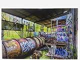Urbancolours Wandbild auf Acryl oder Aluminium - Bilder zur Deko 297x210mm (Mehrere Motive) - Hochwertiger Kunstdruck