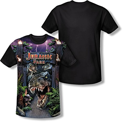 Jurassic Park Men's Welcome To The Park T-Shirt - S to XXXL