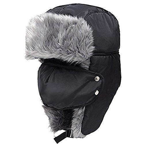 pawaca winddicht Maske Unisex Winter Trapper Trooper Ohr Lasche Hat mit Gesicht Maske, um Sie warm für die Jagd, Walking, und mehr Outdoor Aktivitäten