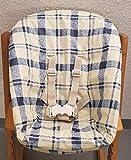 ABWISCHBAR beschichteter Bezug Schonbezug für Newborn Babyschale Tripp Trapp Stokke