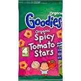 Organix Goodies bio Tomate stars 12mth + (4x15g) - Paquet de 6