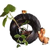 Amgker Everyday Cute Puppy Animal Flowerpot Giardino Balcone Assicella Cucciolo Animale Stile Pastorale Contenitore di Fiori Pianta Verde Vaso per Fiori Oggettistica per la casa Moderna