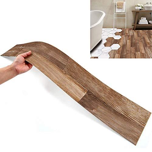 7 stück Boden Aufkleber DIY Fliesen Aufkleber, Muster Stil Boden Fliesen Fliesen Farbe wasserdicht für Küche Boden Badezimmer Wohnzimmer-1stück 6,1 x 36,02 Zoll (Stil 3)