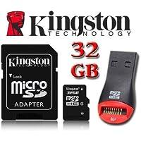 Kingston Carte de Mémoire 32GB Micro SDHC Micro SD HC Pour Sony Xperia Z3 Compact par UkMobileAccessories