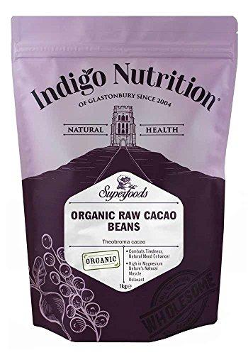 Rohe Biologische ganze Kakaobohnen - 1kg (mit Biosiegel)