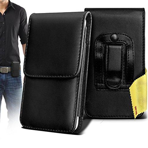 acer-liquid-zest-plus-case-accessories-black-premium-vertical-pu-leather-side-pouch-case-cover-with-