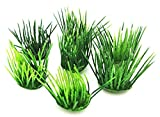 LOLLIPOP® 10 Stück 'Rasenbüschel', Kunststoff, ca. 3 cm Ø x 3,5 cm hoch, grün