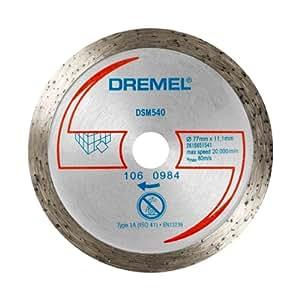 Dremel dsm540 disco da taglio diamantato per piastrelle fai da te - Taglio piastrelle dremel ...