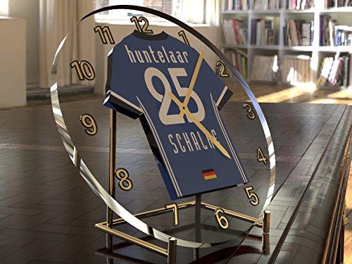 KLAAS-JAN HUNTELAAR 25 - FUßBALLCLUB GELSENKIRCHEN-SCHALKE 04 E.V. - FUßBALL-T-SHIRT TISCHUHR!!!
