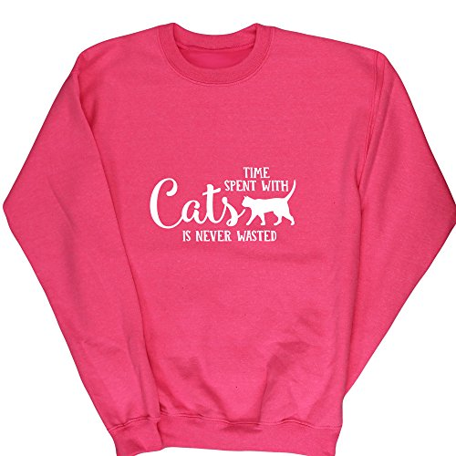 HippoWarehouse Mädchen Sweatshirt Gr. 8 Jahre, (Christmas Ideen Pullover Crazy)