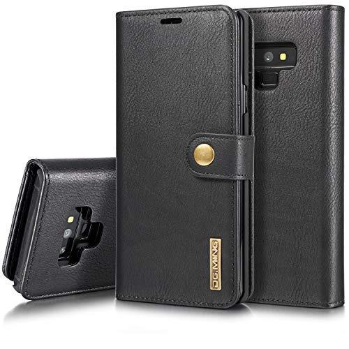 SAVYOU Schutzhülle für Samsung Galaxy Note 9, abnehmbar, magnetisch, schlankes Design, Kartenhalter, Samsung Note 9, schwarz - Für Kühlschränke Abdeckungen Magnetische