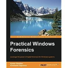 Windows OS Forensics