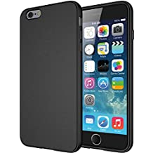 """Diztronic TPU completa Mate Soft Touch flexible para Apple iPhone 6 Plus & 6S Plus (5.5"""") - Retail Packaging - Negro"""