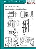 Raumteiler / Paravent, über 2680 Seiten (DIN A4) patente Ideen und Zeichnungen -