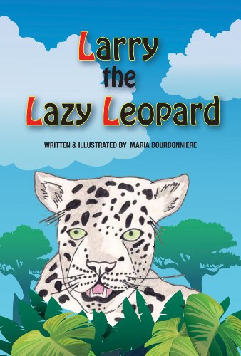 Larry the Lazy Leopard (English Edition) - Lazy Leopard