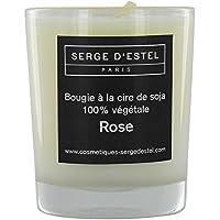 Kerze handwerkliche mit dem Duft Rosa 8Stunden, Sojawachs, natürliche. preisvergleich bei billige-tabletten.eu
