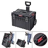 QBRICK TECHNIK Cart Werkzeugtrolley 58,5x43cm Werkzeugkoffer Werkzeugkasten Werkzeugbox Sortimentskasten werkzeugkiste Kiste Box