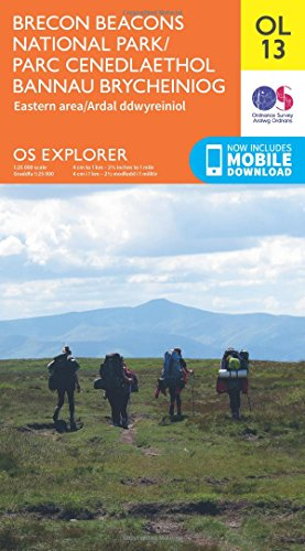 Brecon Beacons National Park: Eastern area 1 : 25 000 (OS Explorer Map) -