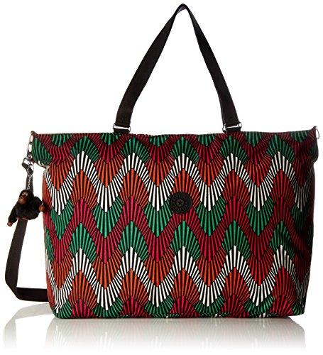 Kipling - XL Bag - Bolso de week-end - Rainy Day - (Gris) Multicolore (Tropic Palm Ct)