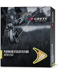 Soie Greys Platinium Stealth Flottante, Taille de soie : WF6 F