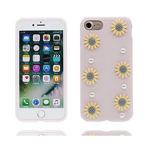 iPhone 6s Plus Custodia, iPhone 6S Plus Copertura posteriore di TPU sveglio // protezione protettiva della pelle di Shell della copertura durevole// Cartoon animale Fenicott di case pour iPhone 6 Plus rosa 2