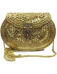 5d7d1a26a Trend Overseas Bolso para mujer, colección Diwali, Regalo de Navidad,  Embrague de fiesta