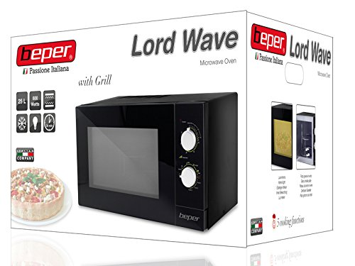 Beper Microwave Oven with Grill, 25 Litre