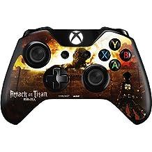 """XboxOne Custom UN-MODDED Controller """"Exclusive Design - Ataque En Titán Fuego """""""