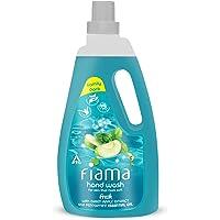 Fiama Fresh Moisturizing hand wash, Peppermint and Green Apple, 1000ml refill pack