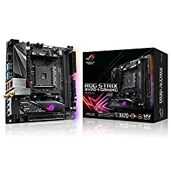 Asus Rog Strix X470-i Gaming Socket Am4amd X470ddr4s-ata 600mini Itx Motherboard - Black