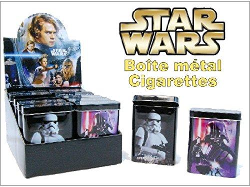 Star Wars Schachtel Zigaretten, Metall, Einheit (Wars Star E-zigarette)