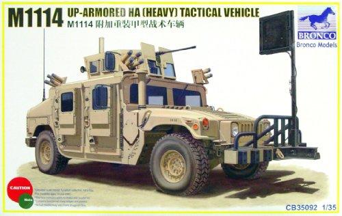 Unbekannt Bronco Models CB35092 - Modellbausatz M1114 Up-Armoured HA, Heavy Tactical Vehi