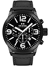 TW Steel Marc Coblen Edition Chrono mit Lederband 50 MM Black/Black TWMC66