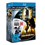 Die Luc Besson Action-Box (Lockout / Colombiana / From Paris with Love) [Blu-ray]