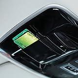 ABS plastica nera auto tetto della scatola accessori 1PC