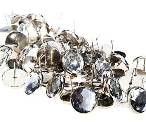 Preisvergleich Produktbild Generic Crystal 22 mm Durchmesser es Headboar Crystal Polstermöbel MM Diamete DIY Knöpfe Meterware Aber 100 Stück Kopfteil Sofa Tonnen